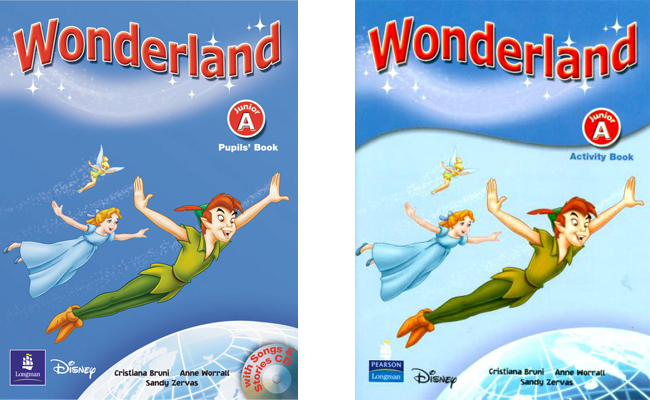 Pearson WONDERLAND Pupil's Book + Activity Book