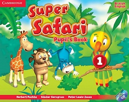 Super Safari 1 Pupil's Book + Activity Book + книга для чтения Big Book