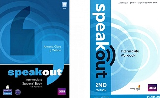 Speakout Intermediate Student's Book + Workbook