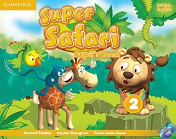 Super Safari 2 Pupil's Book + Activity Book + книга для чтения Big Book