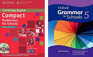 Compact Prelimenary for Schools Students book + Oxford Grammar for Schools 5 + Workbook